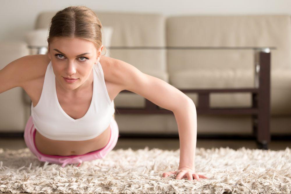 Ćwiczenia na mięśnie klatki piersiowej do samodzielnego wykonywania w domu