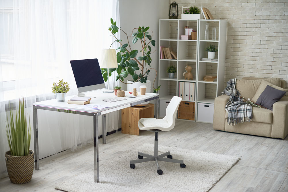 Znalezione obrazy dla zapytania: jak urządzić miejsce do pracy w domu
