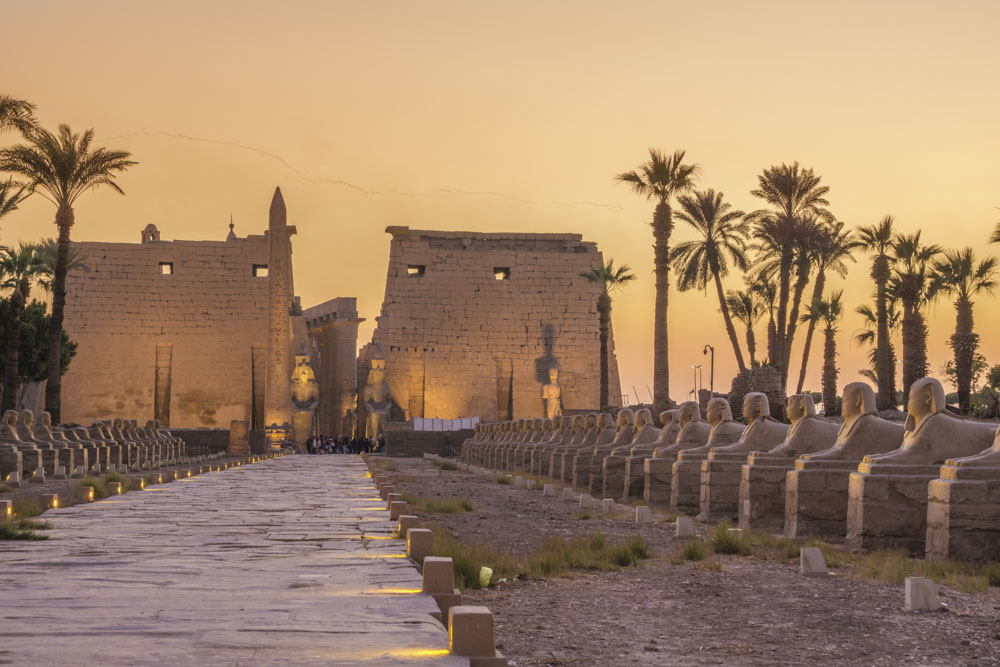 Świątynia Luksorska - Egipt