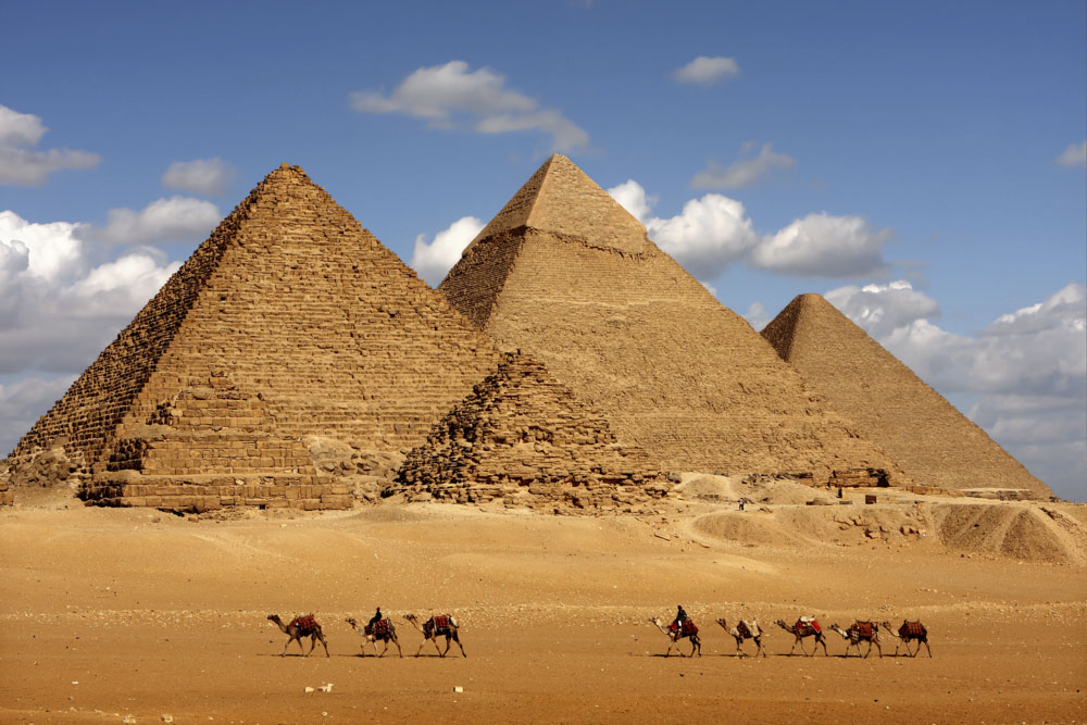 Piramidy - Egipt