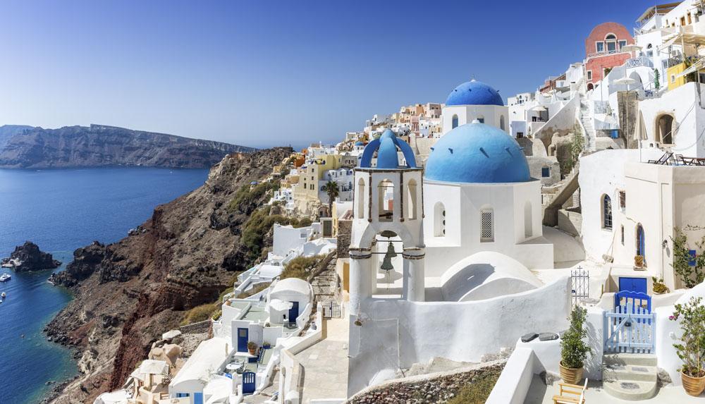 Wakacje w Grecji - Santorini