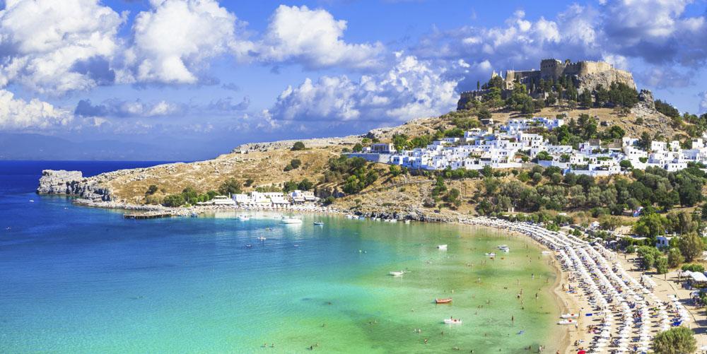 Wakacje w Grecji - wyspa Rodos