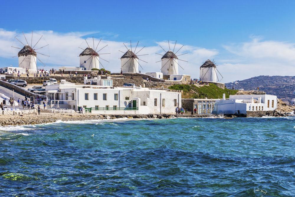 Wakacje w Grecji - Mykonos