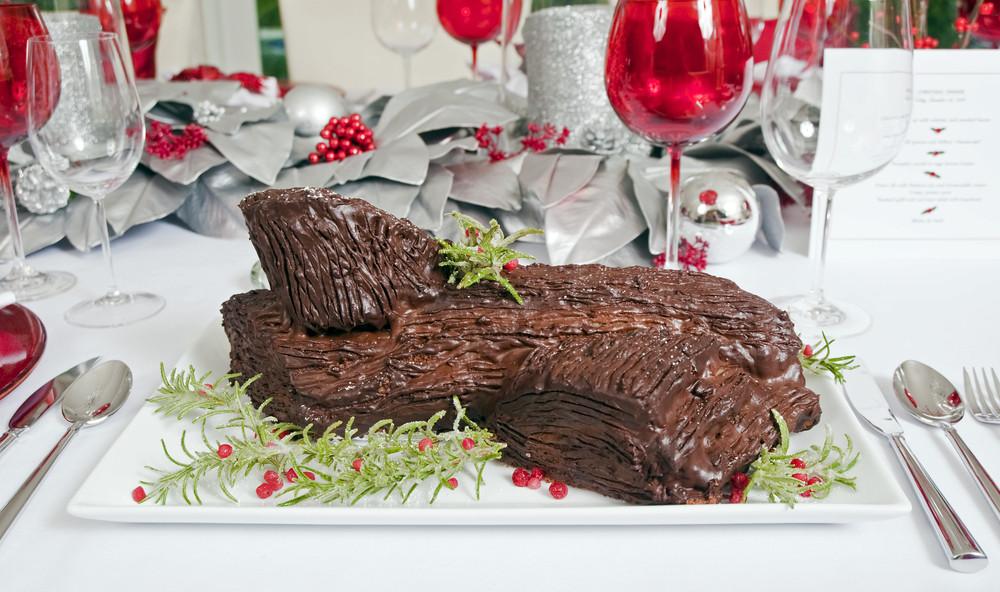 Ciasto buche de Noel