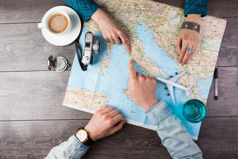 Planowanie podróży poślubnej