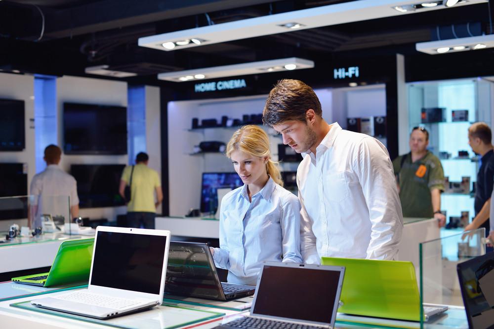 Para w sklapie wybiera komputer