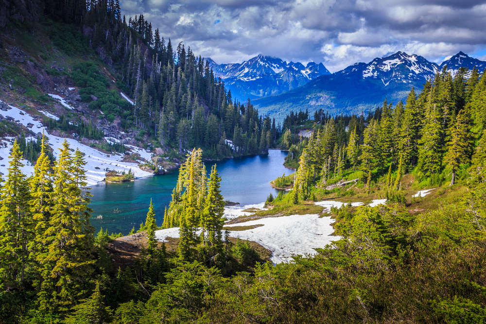 Park narodowy Glacier, Montana, USA