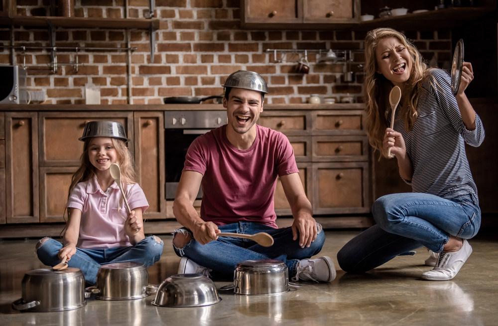 Rodzinne zabawy w kuchni