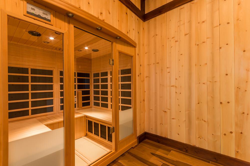 Sauna kabina