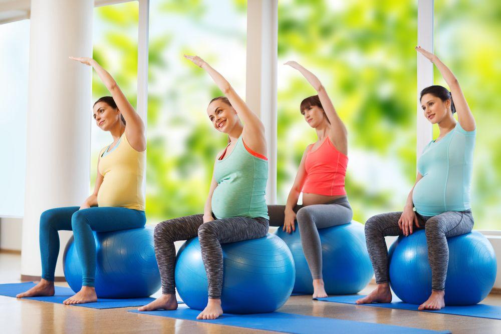 Przykładowe ćwiczenia w ciąży
