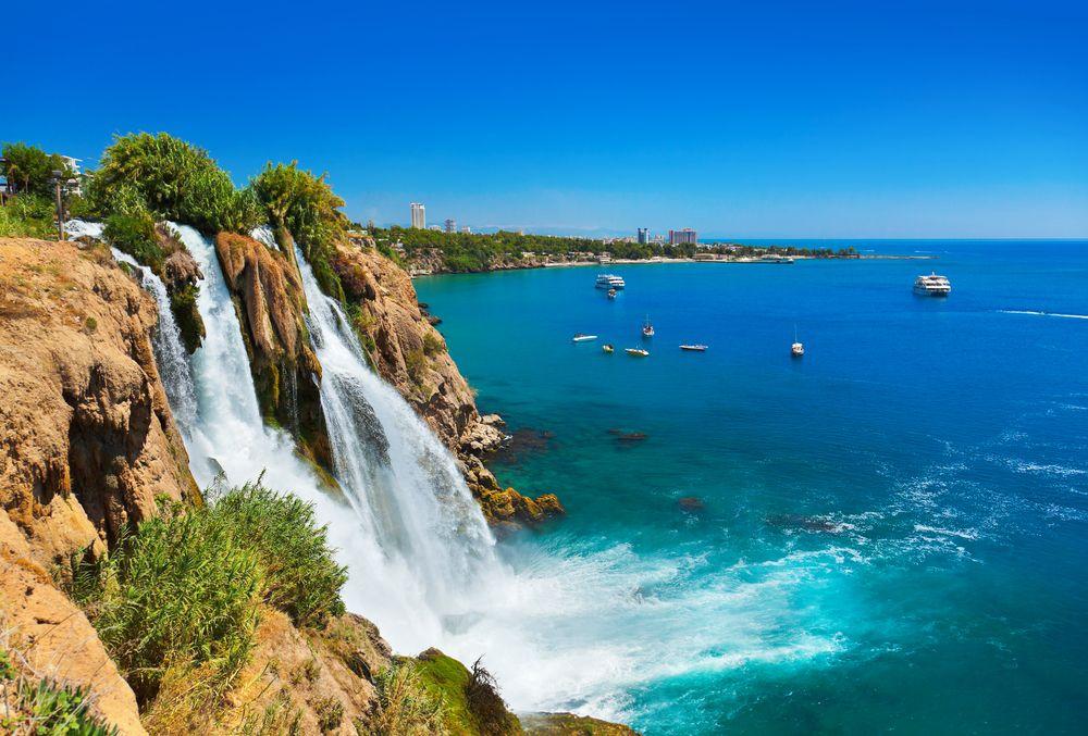 Wodospad Duden w prowincji Antalya