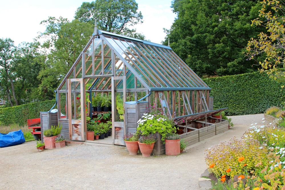 Konstrukcja szklarni ogrodowej