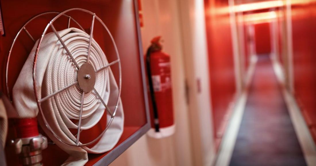 Jak zachowywać się w trakcie pożaru?