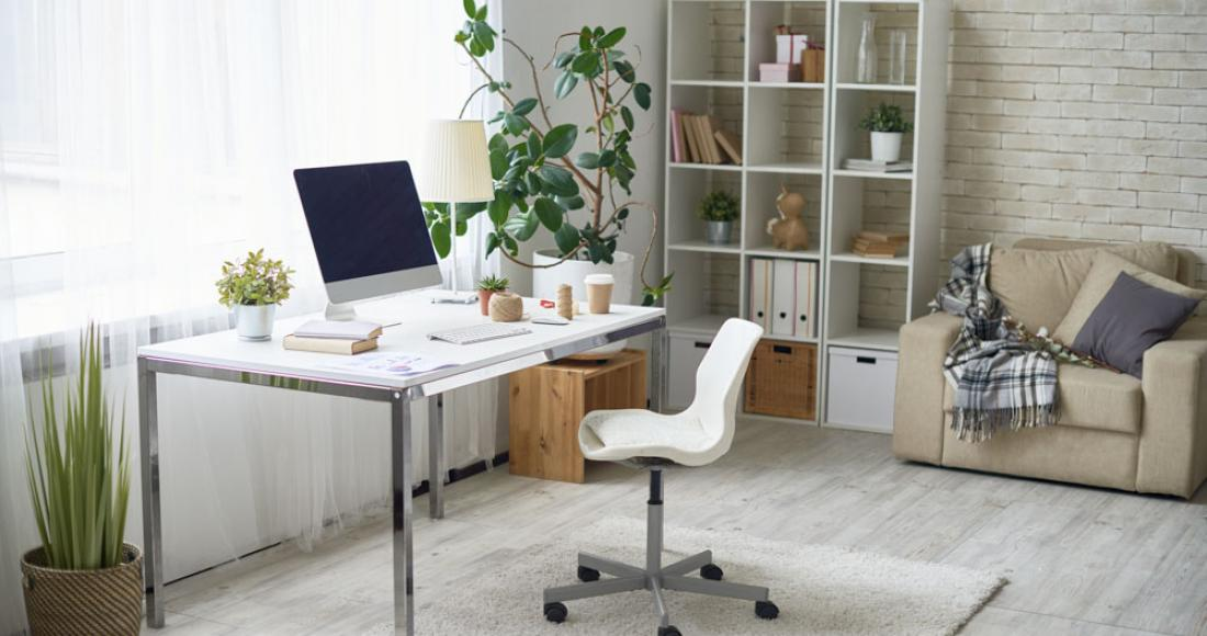 Domowe biuro - jak urządzić miejsce do pracy?